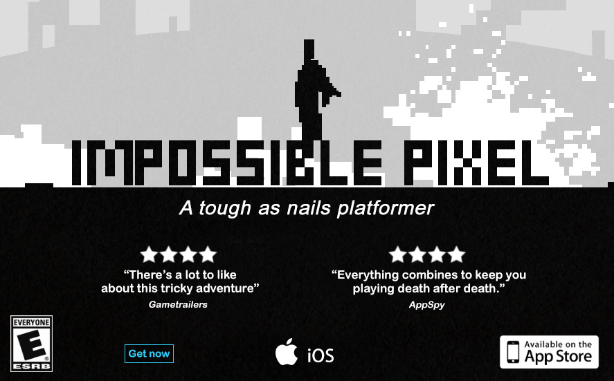 Impossible Pixel - a tough as nails platformer